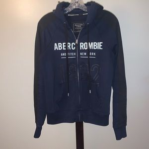 Quality Abercrombie & Fitch zip hoodie